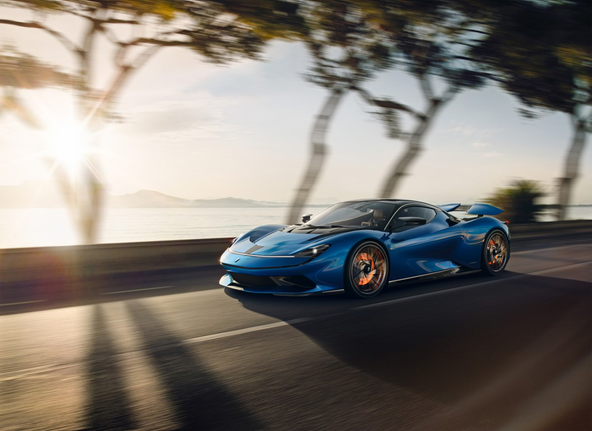 Italian Thunder: The All-Electric Pininfarina Battista