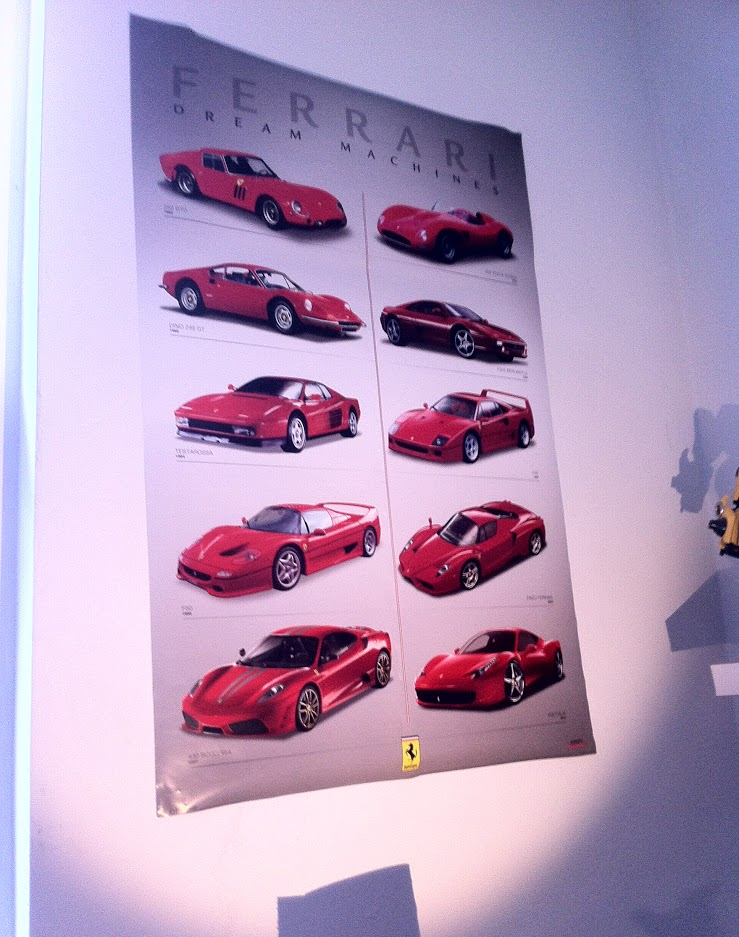 Ferrari Dream Machines Poster