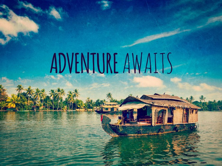 ADVENTURE AWAITS - Free inspirational travel desktop & phone wallpaper