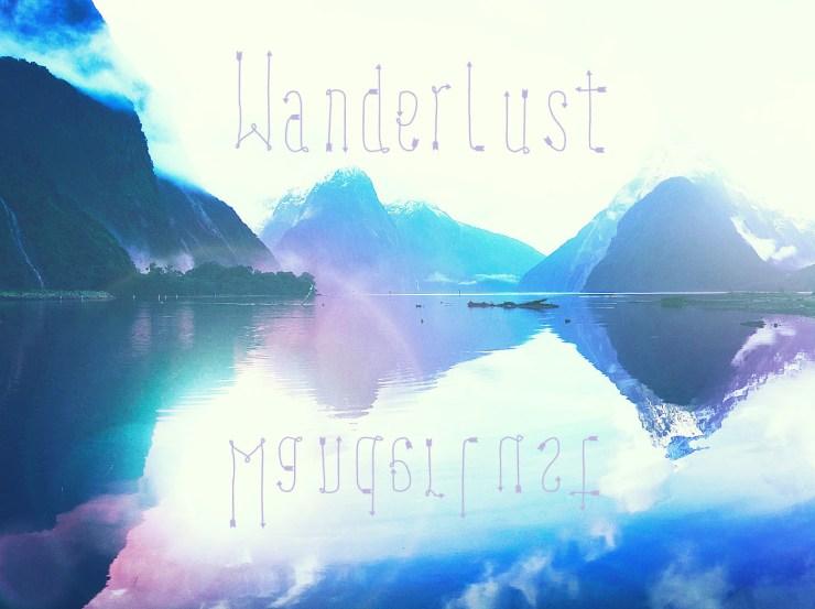 WANDERLUST - Free inspirational travel desktop & phone wallpaper