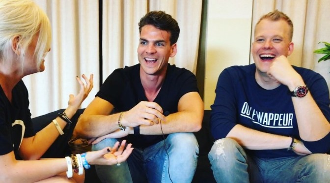 Backstage chat with Ruben de Ronde & Rodg @ Electronic Family