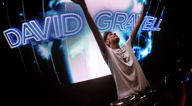 DAVID GRAVELL is back @ The Gallery September 8th
