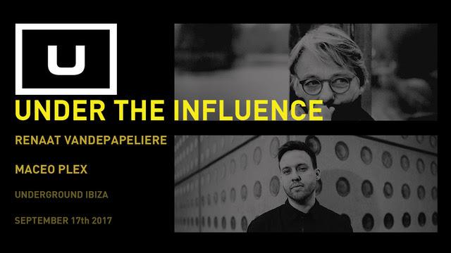 UNDERGROUND IBIZA Present New Concept…  UNDER THE INFLUENCE