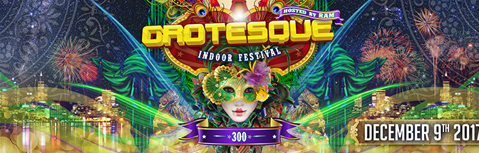 GROTESQUE 300 – MIXED BY RAM, MARCO V & DARREN PORTER