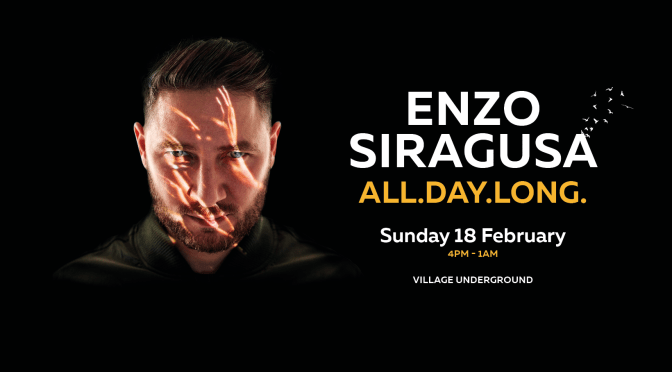 FUSE announce Enzo Siragusa 'All Day Long'