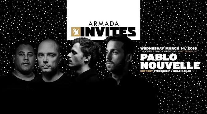 Armada Invites Radio  Pablo Nouvelle ile ilgili görsel sonucu
