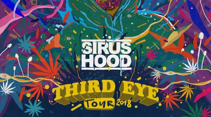 SIRUS HOOD ANNOUNCES  'THIRD EYE' AMERICAN TOUR