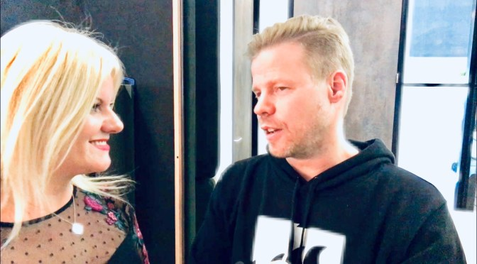 CATCHING UP WITH FERRY CORSTEN AT ARMADA MUSIC'S HEADQUARTER