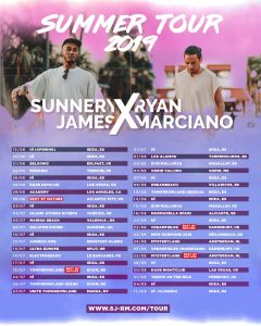 Sunnery James & Ryan Marciano x Leon Benesty – Love, Dance & Feel tour ile ilgili görsel sonucu