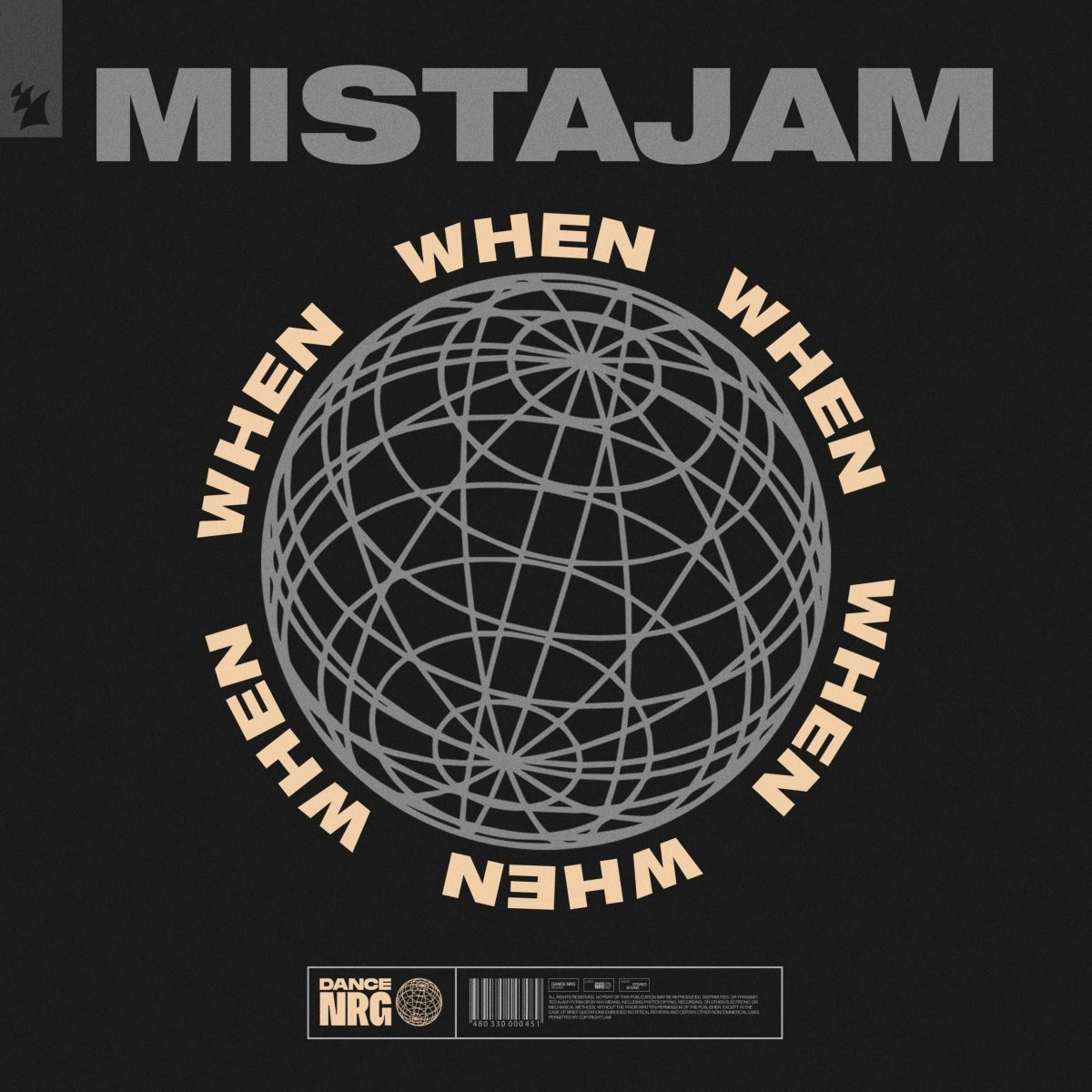 MISTAJAM EMERGES WITH CLEAR-CUT DANCE NRG RELEASE: 'WHEN' – The ...