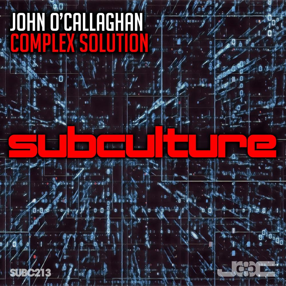 JOHN O'CALLAGHAN – COMPLEX SOLUTION – The Backstage Access