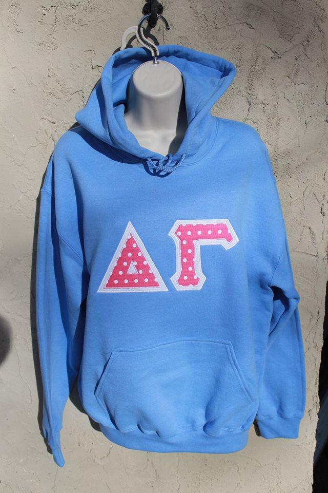 Greek blue hoodie