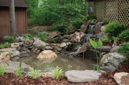 9 Small Backyard Pond Ideas on Small Backyard Pond  id=64035