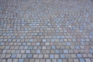 paver stone lawn