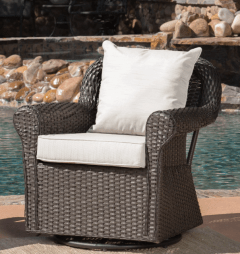 comfy backyard chair
