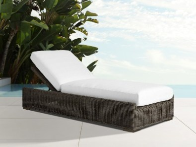 luxury outdoor lounger