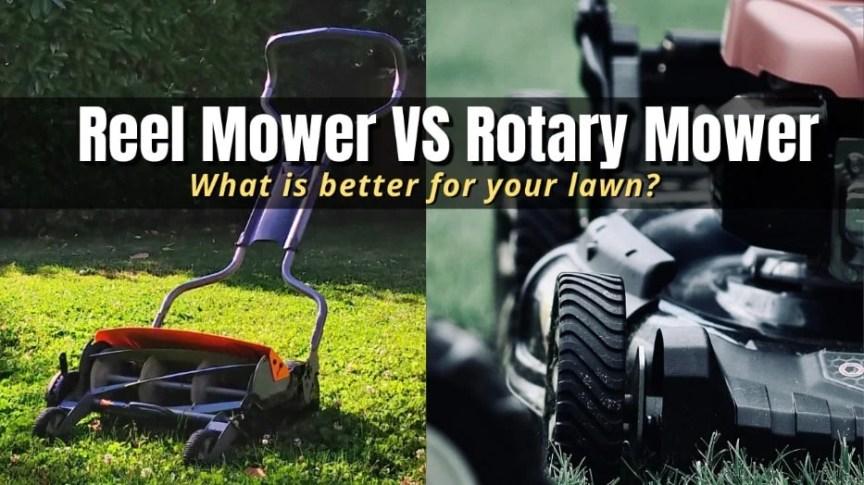 reel mower vs rotary mower