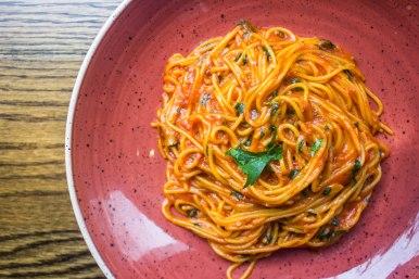 Spaghetti A.O.P at Alta Strada in Washington, D.C.