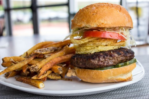 Maxx Burger at Burton's Grill in Alexandria, VA