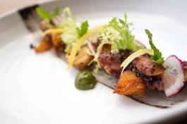 Octopus at 701 Restaurant in Washington, D.C.