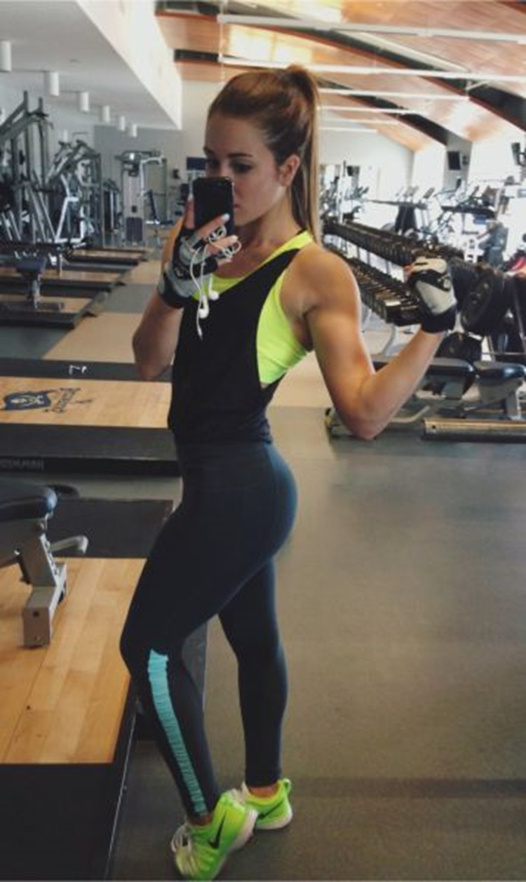 Badchix Some Tight Yoga Shorts you have to Check out 11
