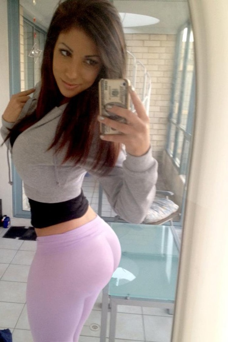 Badchix Some Tight Yoga Shorts you have to Check out 35