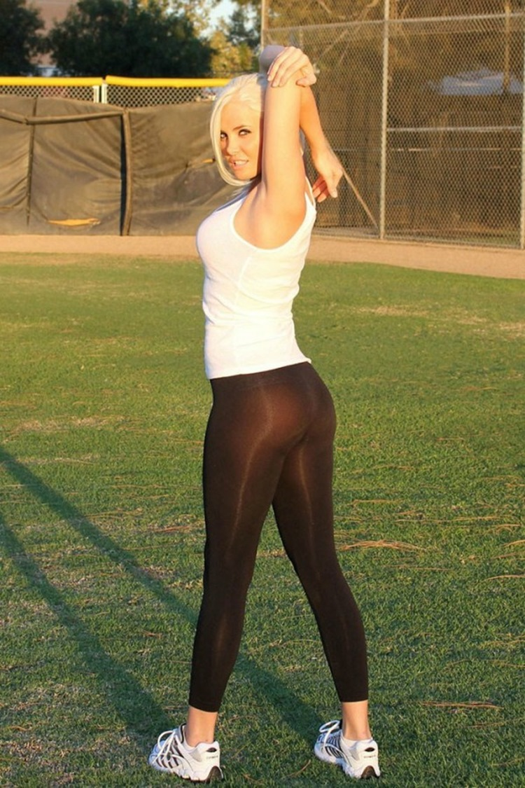 Badchix Some Tight Yoga Shorts you have to Check out 44