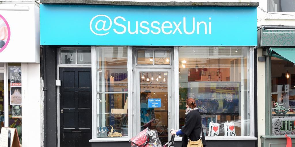 @SussexUni Pop-up Shop