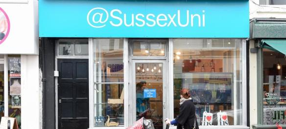 @SussexUni Pop-up Shop