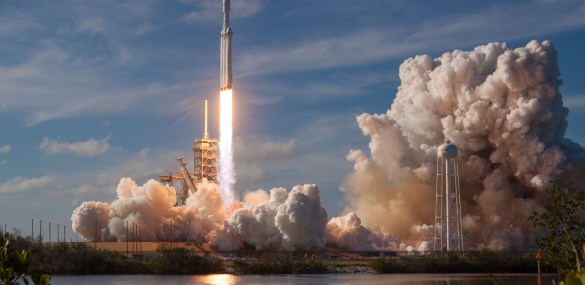 Rockets and technopoltics: SpaceX's Falcon Heavy