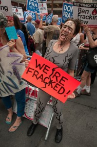 Sentences Quashed for Fracking Protestors