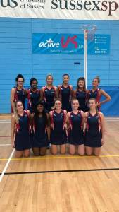 Red card for Sussex as netball player injured