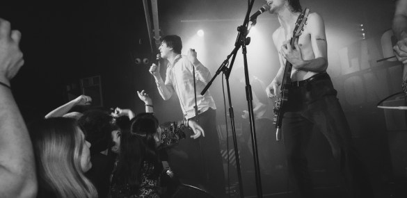 Cabbage live at The Haunt: Swaggering with youthful audacity