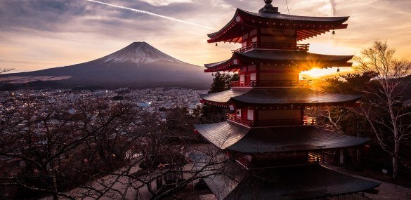 Authentic cities and towns in Japan