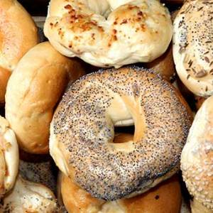 Mini bagels available online and instore at The Bagel Co Rose Bay