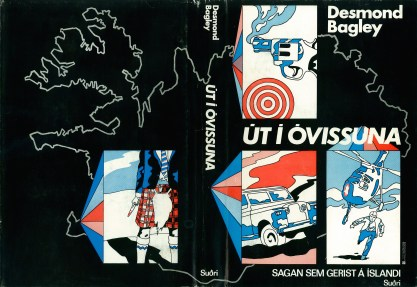 Desmond Bagley Running Blind - Icelandic Suðri First Ed. 1971