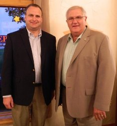 Jason Sheppard with State Representative Dale Zorn