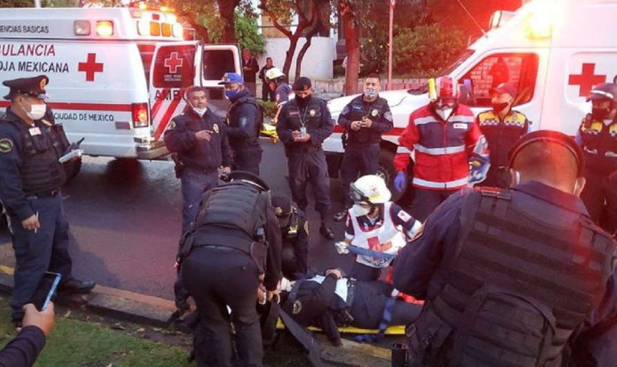 Atentan contra el secretario de Seguridad Pública de la CdMx, mueren dos escoltas