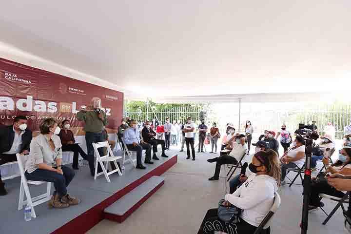 Cumple Gobernador Bonilla promesa de apoyo a colonia Alfonso Ballesteros de Tijuana
