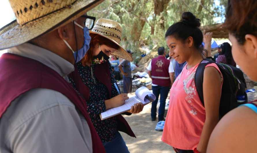 Seis decenas de migrantes varados en Los Algodones, acampan esperando entrar a Estados Unidos: ¿Cómo llegaron hasta aquí?