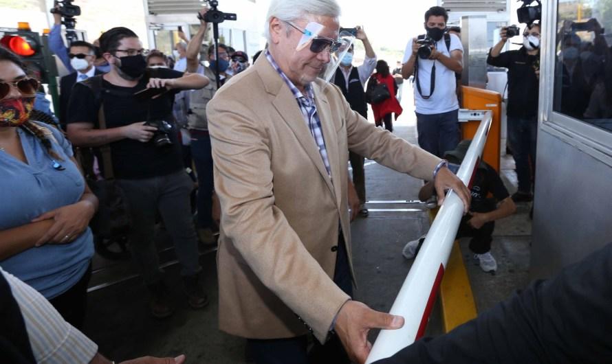 Explicará tema de caseta de Playas de Tijuana Jaime Bonilla a su regreso de la CdMx