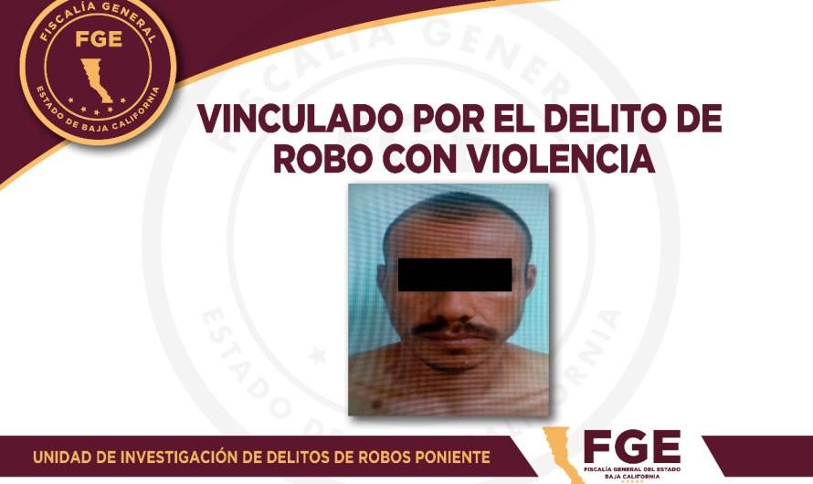 Cae peligroso ladrón violento en Mexicali, tiene un amplio historial delictivo, informó la Fiscalía General del Estado