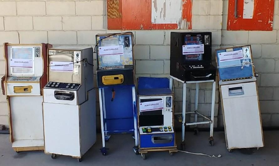 """Confisca FGE máquinas tragamonedas en Mexicali, afirman que son el """"inicio de la corrupción de menores"""""""