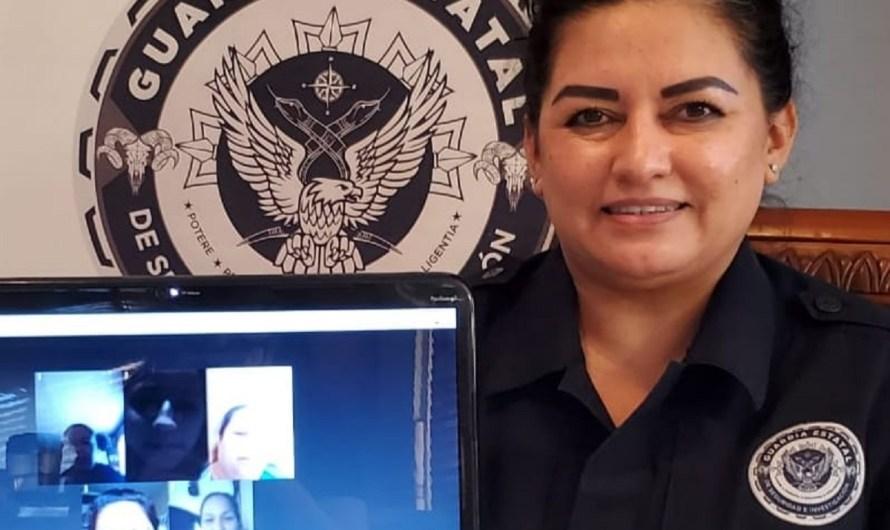 Imparte Guardia Estatal plática virtual sobre uso de redes sociales e Internet, legal, con responsabilidad e igualdad