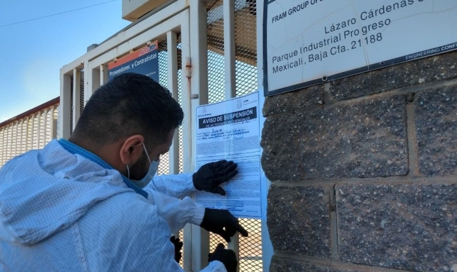 "Baja California Labor Secretary has suspended 740 ""non-essential"" businesses since the pandemics social distancing started"