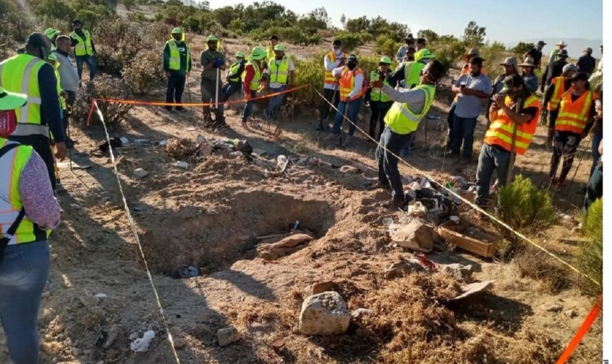 Encuentran trece cadáveres de personas desaparecidas en Tecate: Comisión Estatal de Búsqueda de Desaparecidos