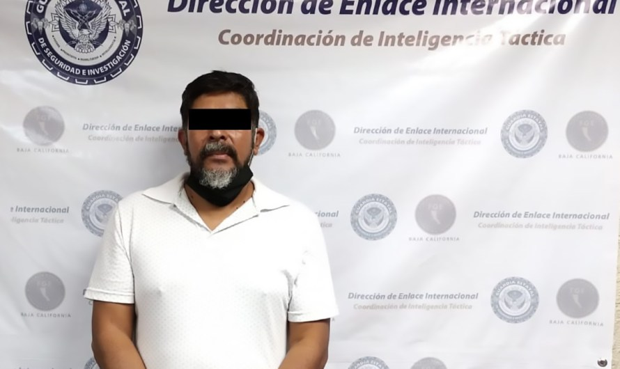 An FBI wanted fugitive was arrested in Mexicali by the State Guard of Baja California Attorney´s Office