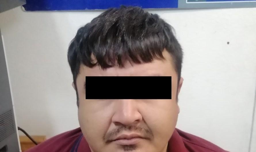 Presunto asaltante de varios bancos en Sinaloa, fue detenido en Mexicali por la Guardia Estatal de la FGE