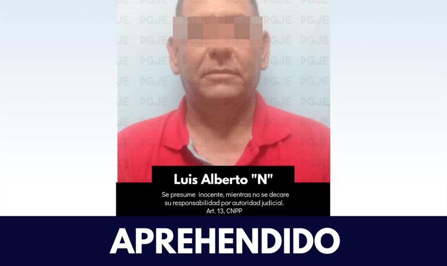 """Localiza PGJE de Baja Sur y detiene en Loreto a """"El Luisillo"""" presunto homicida prófugo desde 2010"""