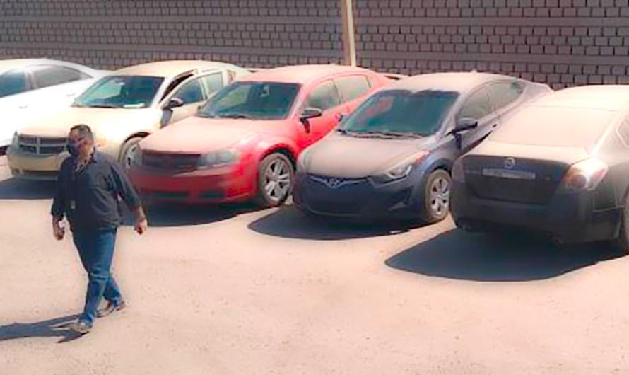 Recupera FGE ocho autos en Mexicali, fueron obtenidos con engaños, detienen a presunto defraudador